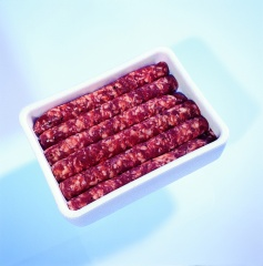 Barquette à saucisses en PSE