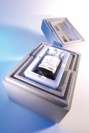 Boîte médicale en PSE